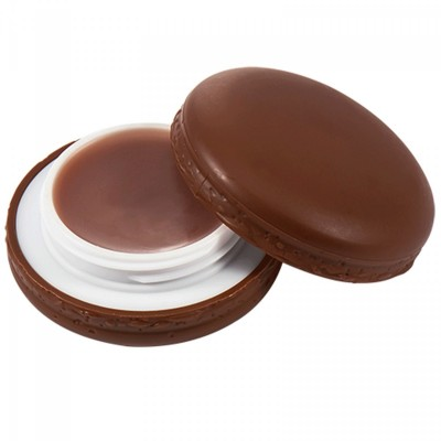 Бальзам для губ Макарун It`s Skin Macaron Lip Balm Holika Holika, тон 05, шоколад: фото