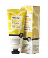 Крем для ног смягчающий с экстрактом лимона FARMSTAY Lemon intensive moisture foot cream 100 мл: фото
