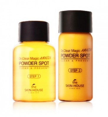 Комплекс для ухода за проблемной кожей THE SKIN HOUSE Dr.clear magic powder spot amazon 15мл/10мл: фото