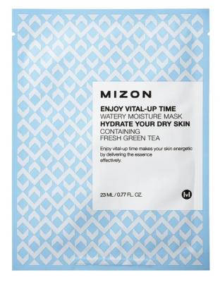 Тканевая маска увлажняющая MIZON Enjoy Vital Up Time Watery Moisture Mask 23мл: фото