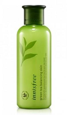 Тоник для лица на основе экстракта зеленого чая INNISFREE Green Tea Balancing Skin 200мл: фото