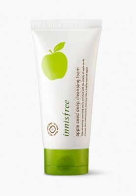 Пенка для очищения лица с экстрактом яблока INNISFREE Apple Seed Deep Cleansing Foam: фото