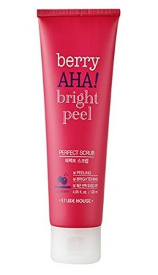 Скраб с АНА-кислотами ETUDE HOUSE Berry AHA Bright Peel Perfect Scrub 120мл: фото