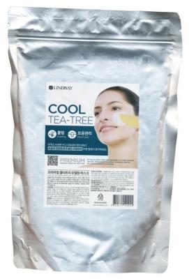 Альгинатная маска с экстрактом чайного дерева LINDSAY Premium cool tea-tree Modeling Mask 1000г: фото