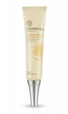 Крем для век с экстрактом календулы THE FACE SHOP Calendula essential moisture eye cream 20 мл: фото