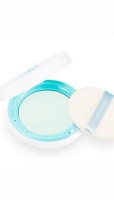 Пудра компактная для лица MISSHA Sebum-Cut Powder Pact Clear Mint: фото