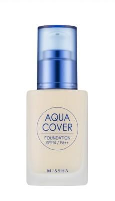 Тональный крем для лица MISSHA Aqua Cover Foundation SPF20/PA++ No.23: фото
