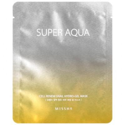 Маска тканевая Регенерирующая MISSHA Super Aqua Cell Renew Snail Hydro Gel Mask: фото