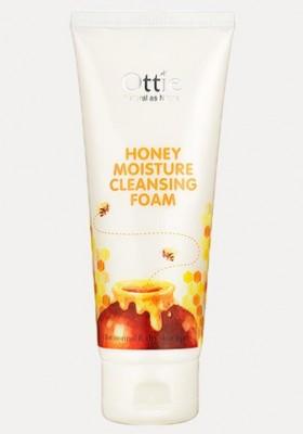 Пенка с медом для сухой кожи OTTIE Honey Moisture Cleansing Foam 150мл: фото