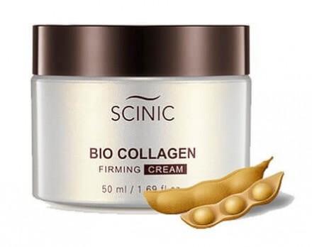 Подтягивающий крем с растительным коллагеном SCINIC Bio Collagen Firming Cream 50мл: фото