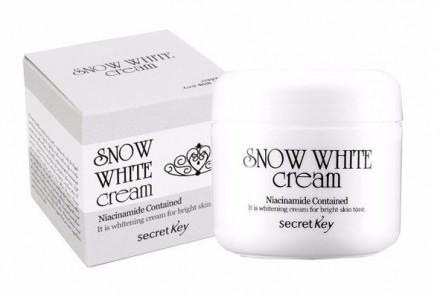 Крем с активным отбеливающим действием SECRET KEY Snow White Cream: фото