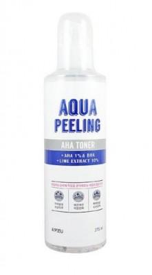 Тонер-пилинг с AHA-кислотами A'PIEU Aqua Peeling Aha Toner 250мл: фото