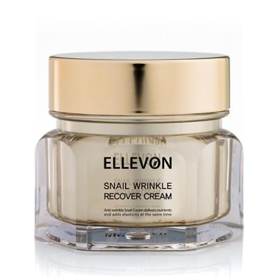 Крем антивозрастной с экстрактом улитки ELLEVON Snail Cream 100 мл: фото
