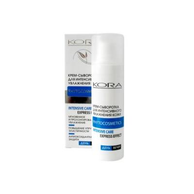 Крем-сыворотка для интенсивного увлажнения обезвоженной кожи KORA 30 мл: фото