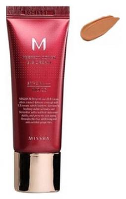 Тональный крем MISSHA M Perfect Cover BB Cream SPF42/PA+++ No.29/ Caramel Beige 20ml: фото
