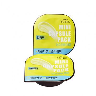 Mini Capsule Pack Clay Lemon Scinic: фото