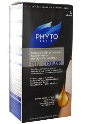 Краска для волос PHYTOSOLBA Phyto Color 4 Шатен: фото