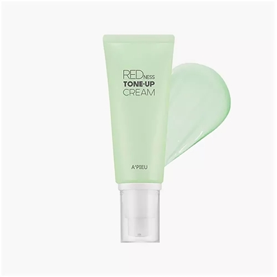 Крем для маскировки покраснений A'PIEU Redness Tone-up Cream 65гр: фото