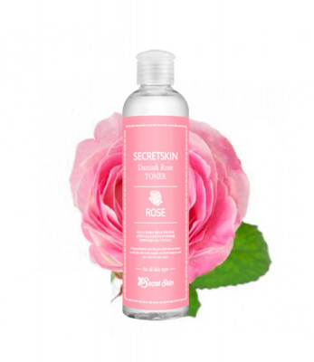 Тонер для лица с экстрактом розы SECRETSKIN DAMASK ROSE TONER 250мл: фото