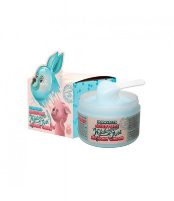 Крем для лица увлажняющий гиалуроновый Elizavecca moisture hyaluronic acid memory cream 100гр: фото