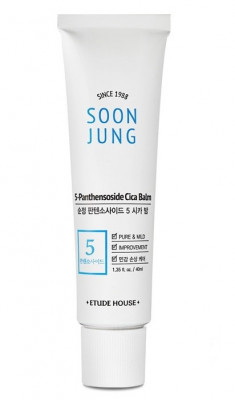 Бальзам заживляющий ETUDE HOUSE Soon Jung 5 Panthensoside Cica Balm 40мл: фото