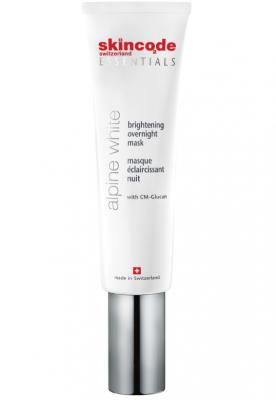 Осветляющая ночная маска Skincode Essentials Alpine White Brightening Overnight Mask 50 мл: фото