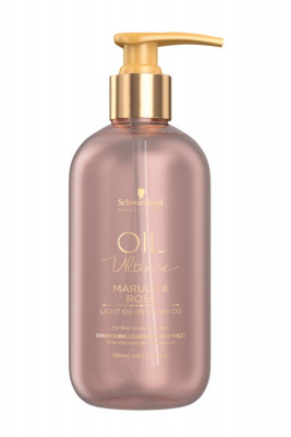 Шампунь для тонких волос Schwarzkopf Professional Oil Ultime lignt-Oil-in-Shampoo 300мл: фото