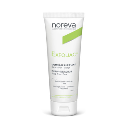 Скраб очищающий Noreva Exfoliac 50мл: фото