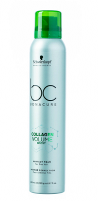 Мусс-кондиционер Schwarzkopf Professional Collagen Volume Boost Perfect foam 200 мл: фото