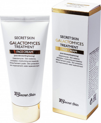 Крем для лица с галактомисисом SECRET SKIN GALACTOMYCES TREATMENT FACE CREAM 50г: фото