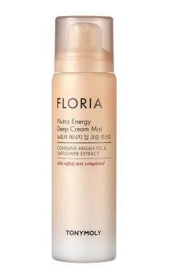 Увлажняющий крем-мист для лица с аргановым маслом FLORIA Nutra Energy Deep Cream Mist 120мл: фото