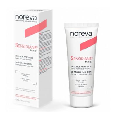 Успокаивающая эмульсия для нормальной и комбинированной кожи Noreva, Sensidiane 40 мл: фото