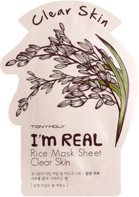 Маска с экстрактом риса Tony Moly I'm Rice Mask Sheet 21 мл: фото