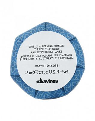 Помада моделирующая для текстурных и пластичных образов Davines More Inside Forming pomade it's for textured and rew orkable looks 75мл: фото