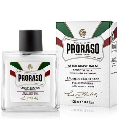 Бальзам после бритья для чувствительной кожи Зелёный Чай и Овёс Proraso White 100 мл: фото