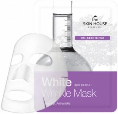 Тканевая маска осветляющая THE SKIN HOUSE White Wrinkle Mask 20г: фото