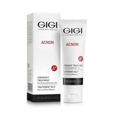 Крем ночной GIGI ACNON Overnight treatment 50мл: фото
