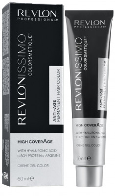 Краска для седых волос Revlon Professional Revlonissimo High Coverage 8.42 Медовый Светлый Блондин 60мл: фото