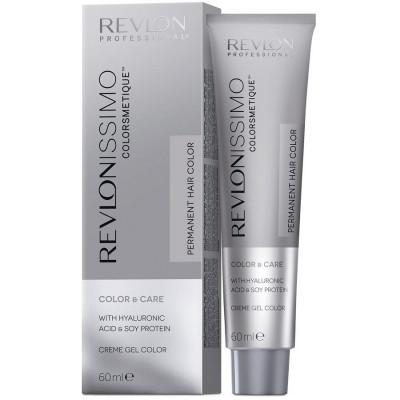 Краска перманентная Revlon Professional Revlonissimo Colorsmetique 10.31 Очень сильно Светлый Блондин Золотисто-Пепельный 60мл: фото