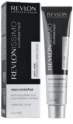 Краска для седых волос Revlon Professional Revlonissimo High Coverage 9 Очень Светлый Блондин 60мл: фото
