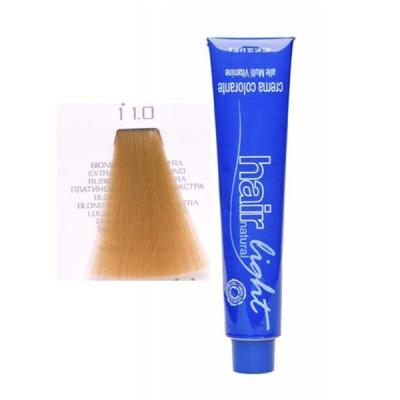 Крем-краска для волос Hair Company HAIR LIGHT CREMA COLORANTE 11.0 специальный блондин экстра 100мл: фото