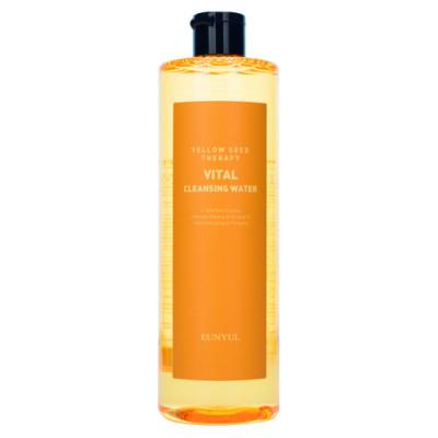 Мицеллярная вода витаминизирующая с экстрактами цитрусовых Eunyul Yellow Seed Therapy Vital Cleansing Water 500мл: фото
