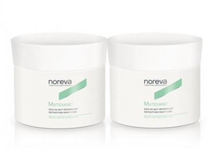Набор для комбинированной кожи NOREVA MATIDIANE: Ночной детокс-крем 2 шт: фото