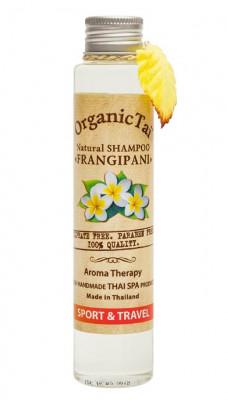 Шампунь безсульфатный с маслом франжипани ORGANIC TAI Natural Shampoo Frangipani 100 мл: фото