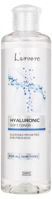 Тонер с гиалуроновой кислотой L'arvore Hyaluronic Soft Toner 248 мл: фото