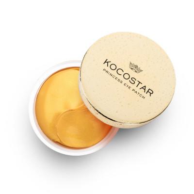 Патчи для глаз гидрогелевые с коллоидным золотом Kocostar Princess Eye Patch Gold 60шт: фото