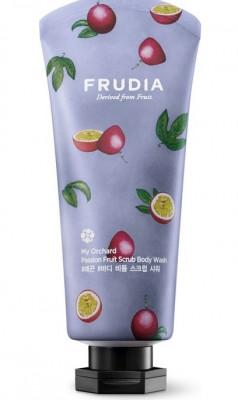 Гель-скраб для душа с маракуйей Frudia My Orchard Passion Fruit Scrub Body Wash 200 мл: фото