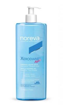Гель мягкий очищающий обогащенный Noreva Xerodiane AP+ 1000мл: фото