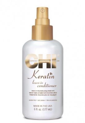 Несмываемый спрей-кондиционер с КЕРАТИНОМ CHI Keratin Leave-in Conditioner 177 мл: фото