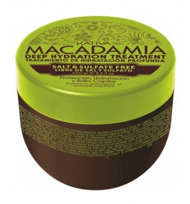 Интенсивно увлажняющая маска для волос Kativa Macadamia 500мл: фото